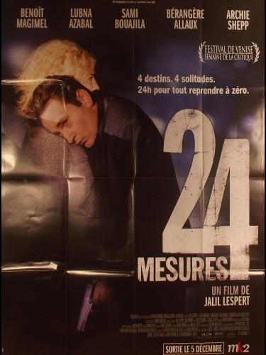 Affiche du film 24 MESURES