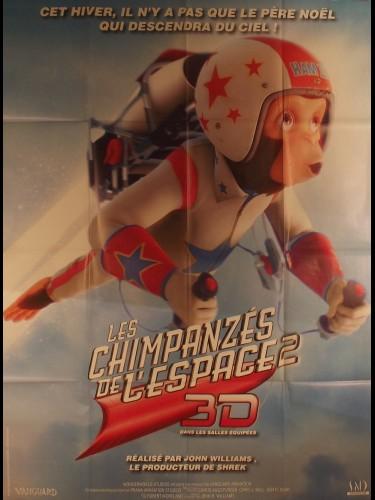 Affiche du film LES CHIMPANZES DE L'ESPACE - Titre original : SPACE CHIMPS