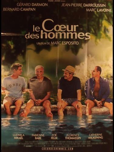 Affiche du film LE CŒUR DES HOMMES