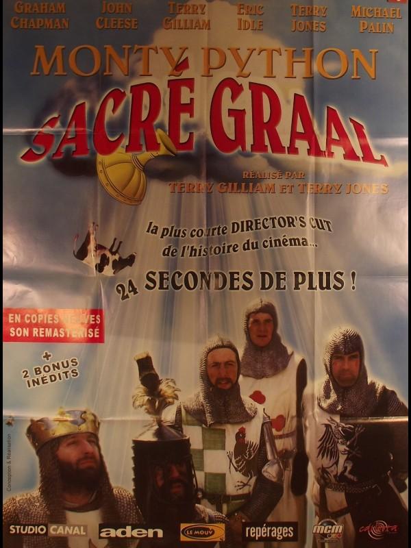 Affiche du film MONTY PYTHON SACRE GRAAL- Titre original : MONTY PYTHON AND THE HOLY GRAIL