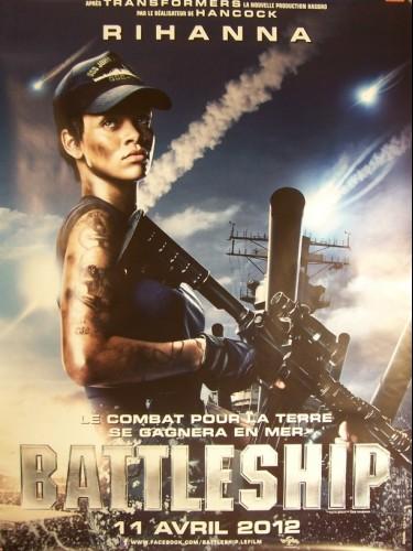 Affiche du film BATTLESHIP -RIHANNA-