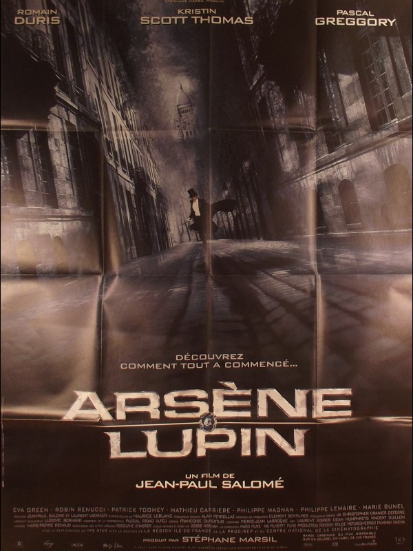 Affiche du film ARSENE LUPIN