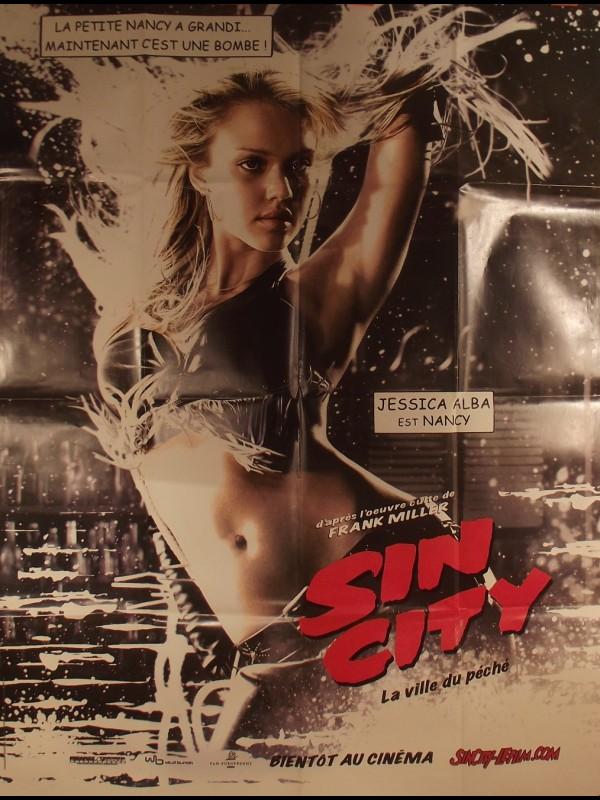 Affiche du film SIN CITY - JESSICA ALBA -