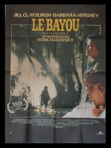 Affiche du film BAYOU (LE) - SHY PEOPLE