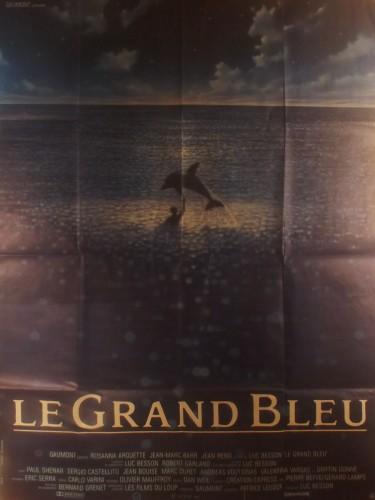 Affiche du film LE GRAND BLEU
