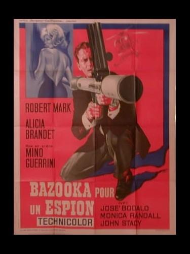 Affiche du film BAZOOKA POUR UN ESPION