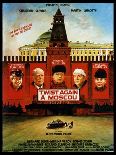Affiche du film TWIST AGAIN A MOSCOU