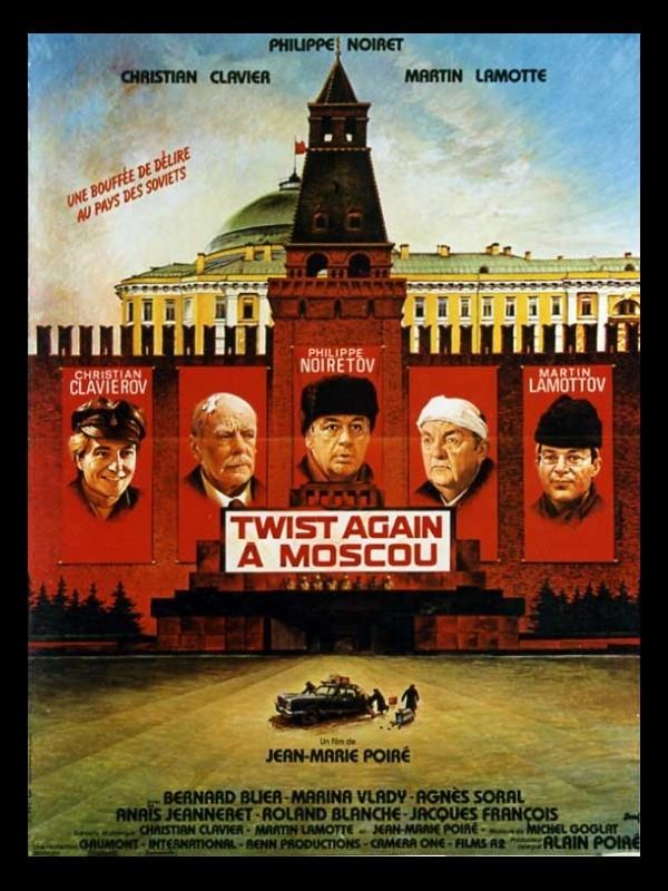 Affiche du film TWIST AGAIN A MOSCOU