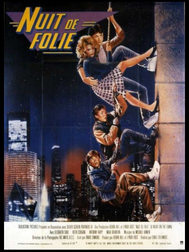 Affiche du film NUIT DE FOLIE - ADVENTURES IN BABYSITTING