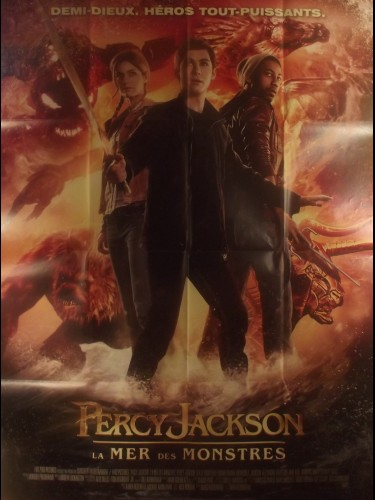 Affiche du film PERCY JACKSON - LA MER DES MONSTRES - Titre original : PERCY JACKSON - SEA OF MONSTERS