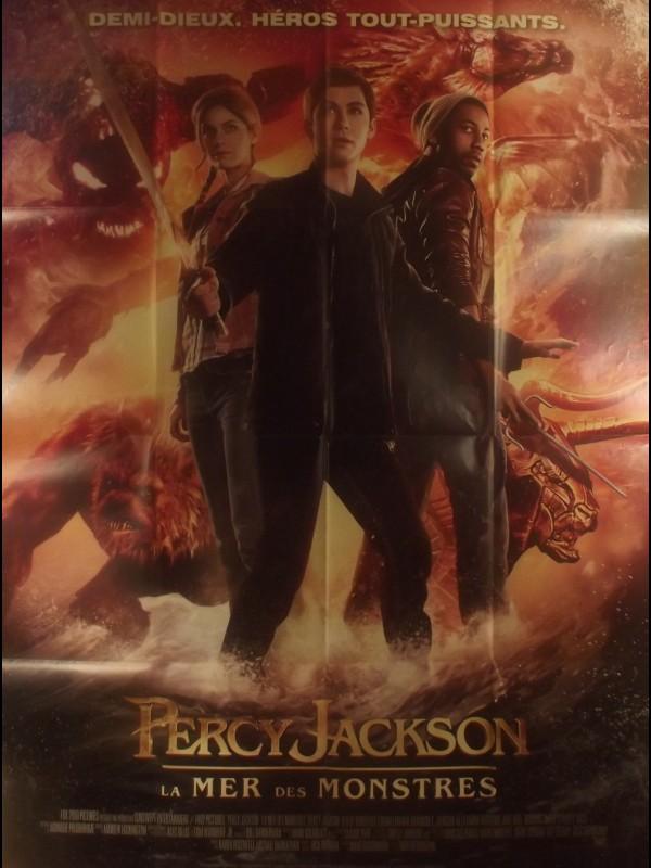 Affiche du film PERCY JACKSON - LA MER DES MONSTRES - Titre original : PERCY JACKSON - SEA OF MONSTERS
