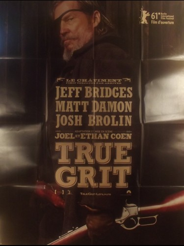 Affiche du film TRUE GRIT