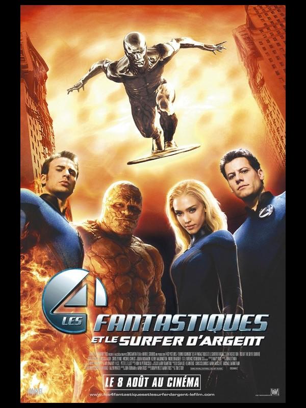 Affiche du film 4 FANTASTIQUES ET LE SURFER D'ARGENT (2) - 4 RISE OF THE SILVER SURFER