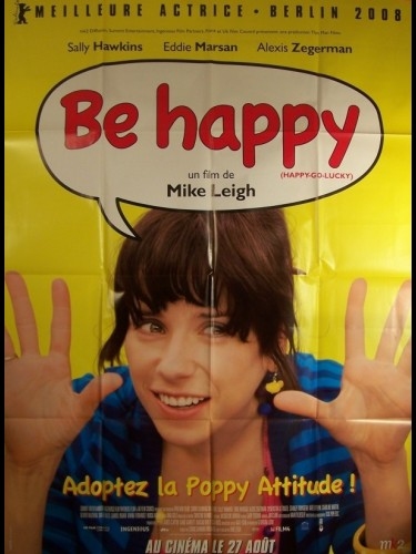 Affiche du film BE HAPPY