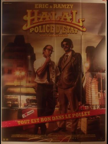 Affiche du film HALAL POLICE D'ETAT