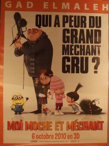 Affiche du film MOI MOCHE ET MECHANT - Titre original : DESPICABLE ME