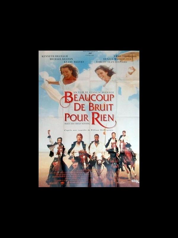 Affiche du film BEAUCOUP DE BRUIT POUR RIEN - MUCH ADO ABOUT NOTHING