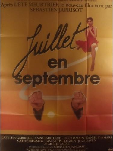 Affiche du film JUILLET EN SEPTEMBRE