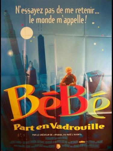 Affiche du film BEBE PART EN VADROUILLE