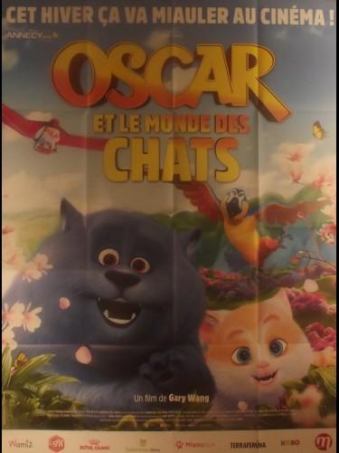 Affiche du film OSCAR ET LE MONDE DES CHATS - Titre original: CAT AND PEACHTOPIA