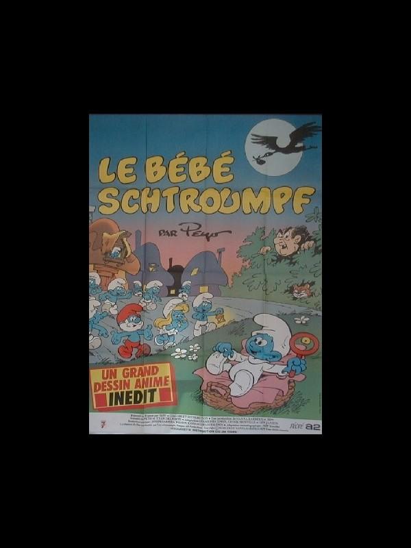 Affiche du film BEBE SCHTROUMPH (LE)