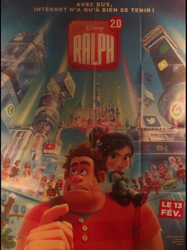 Affiche du film RALPH 2.0 - Titre original: RALPH BREAKS THE INTERNET