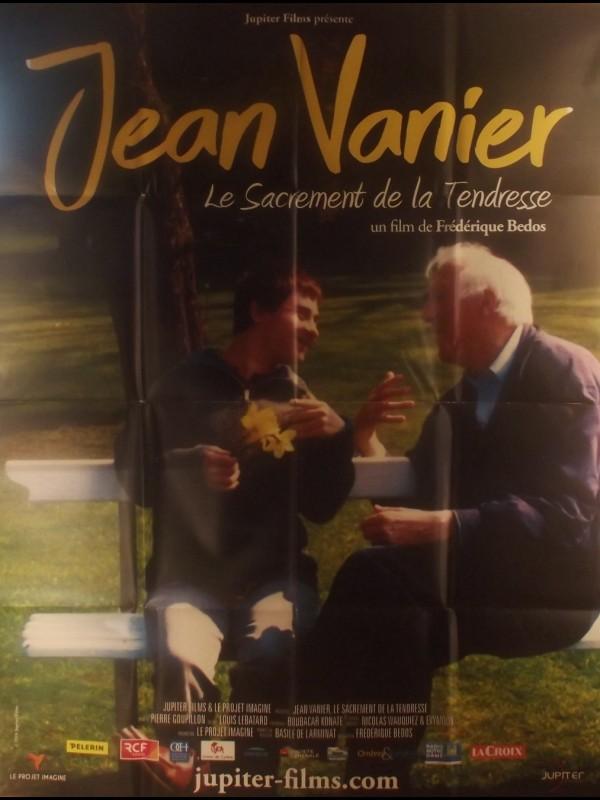 Affiche du film JEAN VANIER - LE SACREMENT DE LA TENDRESSE