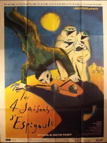 Affiche du film 4 SAISONS D'ESPIGOULE