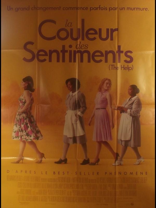 Affiche du film LA COULEUR DES SENTIMENTS