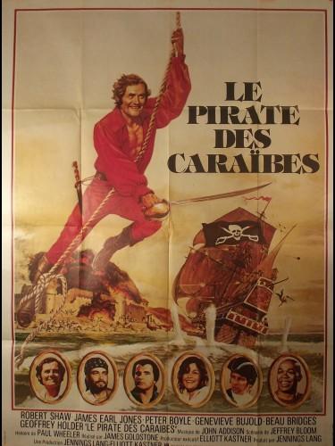 Affiche du film LE PIRATE DES CARAIBES - Titre original : SWASHBUCKLER