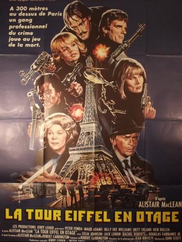 Affiche du film LA TOUR EIFFEL EN OTAGE - Titre originale : THE HOSTAGE TOWER