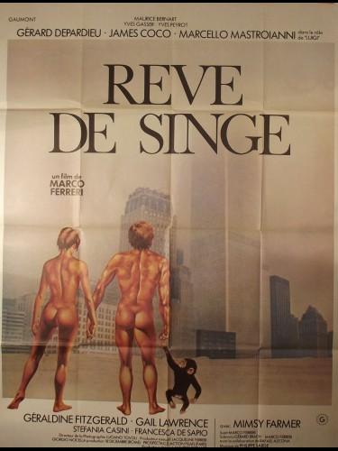 Affiche du film REVE DE SINGE - Titre originale : CIA MASCHIO
