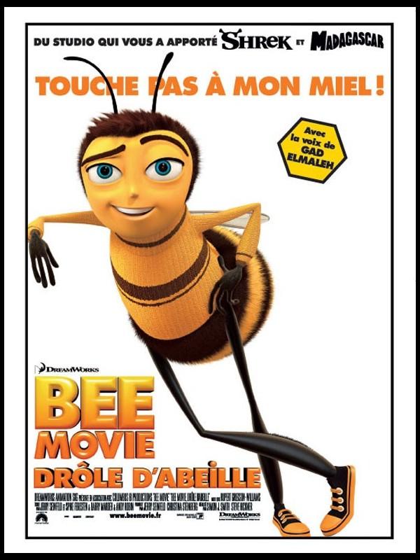 Affiche du film BEE MOVIE DRÔLE D'ABEILLE - BEE MOVIE