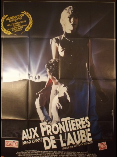 Affiche du film AUX FRONTIERES DE L'AUBE - Titre originale : NEAR DARK