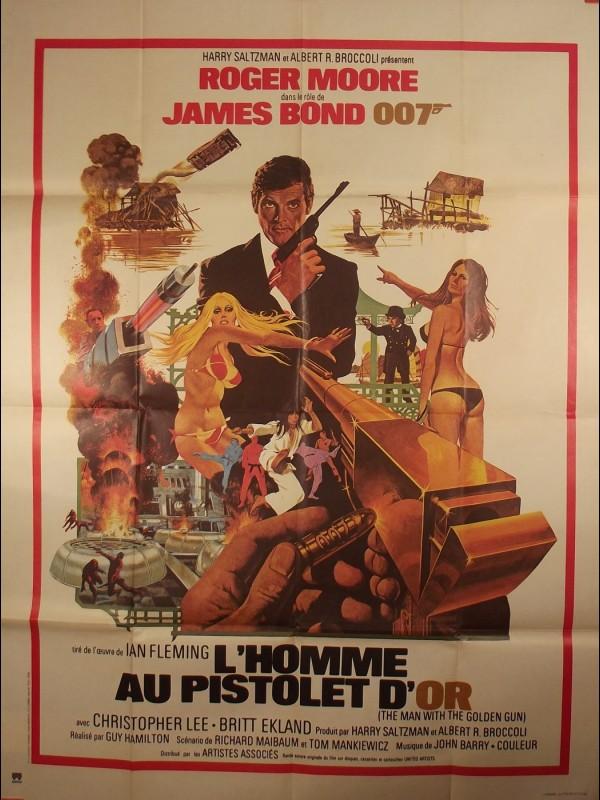 Affiche du film HOMME AU PISTOLET D'OR (L') (JAMES BOND) - THE MAN WHITH THE GOLDEN GUN