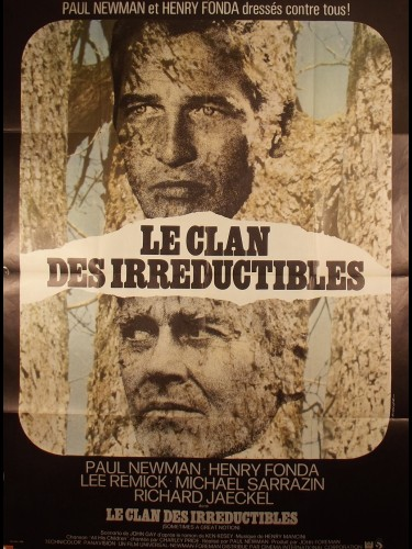 Affiche du film LE CLAN DES IRREDUCTIBLES - Titre originale : SOMETIMES A GREAT NOTION