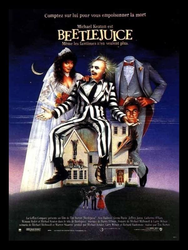 Affiche du film BEETELJUICE