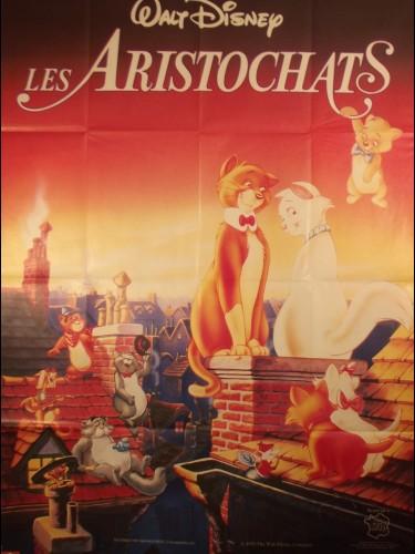 Affiche du film LES ARISTOCHATS - Titre originale : THE ARISTOCATS
