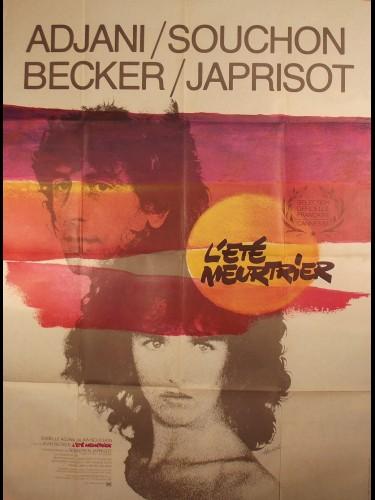 Affiche du film L'ÉTÉ MEURTRIER