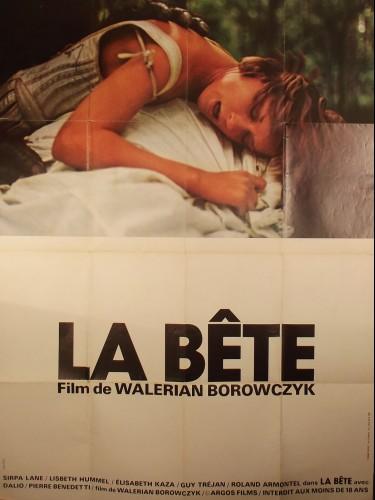 Affiche du film LA BETE