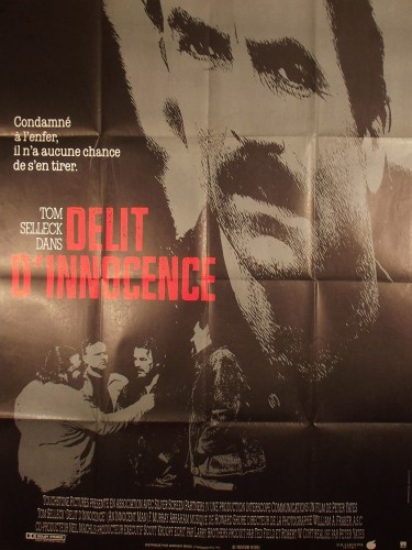 Affiche du film DELIT D'INNOCENCE - Titre original : AN INNOCENT MAN