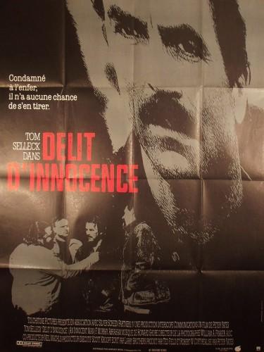 Affiche du film DELIT D'INNOCENCE - Titre original : AN INNOCENT MAN