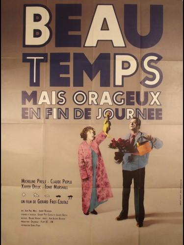 Affiche du film BEAU TEMPS MAIS ORAGEUX EN FIN DE JOURNEE