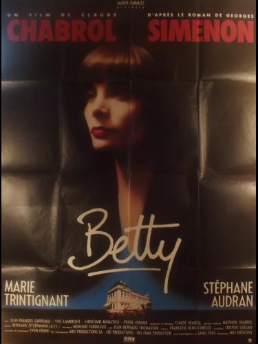 Affiche du film BETTY