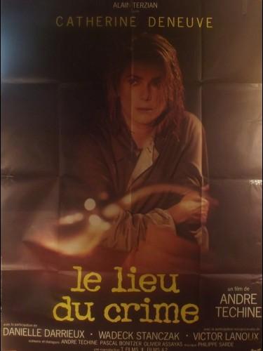 Affiche du film LE LIEU DU CRIME