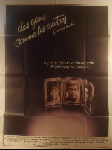 Affiche du film DES GENS COMME LES AUTRES - Titre original : ORDINARY PEOPLE