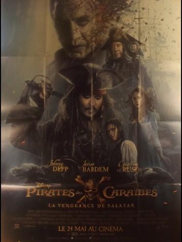 Affiche du film PIRATES DES CARAIBES - LA VENGEANCE DE SALAZAR