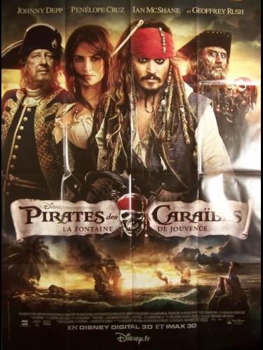 Affiche du film PIRATES DES CARAIBES - LA FONTAINE DE JOUVENCE
