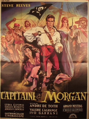 CAPITAINE MORGAN - Titre original : MORGAN IL PIRATA