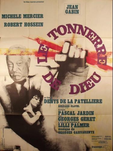 Affiche du film TONNERRE DE DIEU